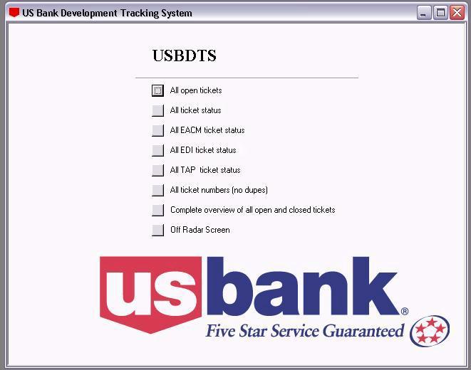 bonneyarmstrong com us bank development ticket tracking system